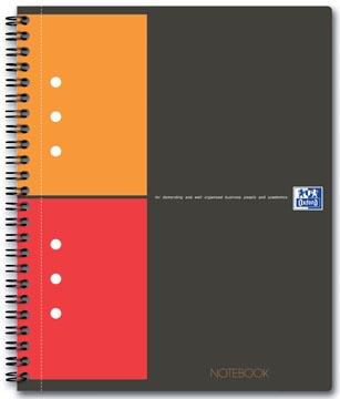 Oxford INTERNATIONAL notebook, 160 pages, ft A5+, quadrillé 5 mm