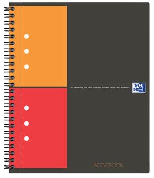 Oxford INTERNATIONAL activebook, 160 pages, ft A4+, quadrillé 5 mm