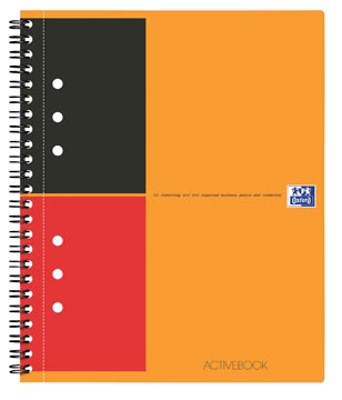 Oxford INTERNATIONAL activebook, 160 pages, ft A5+, ligné