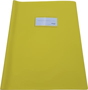 Bronyl protège-cahiers ft 21 x 29,7 cm (A4), jaune