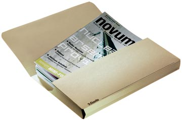 Esselte Pochette documents Pocket File chamois