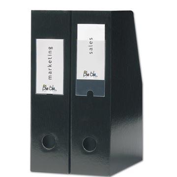 3L Porte-étiquette, ft 55 x 102 mm, étui de 6 pièces