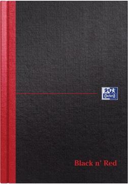 Oxford Black n' Red carnet de notes, ft A5, ligné, 192 pages