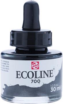 Talens Ecoline peinture à l'eau flacon de 30 ml, noir