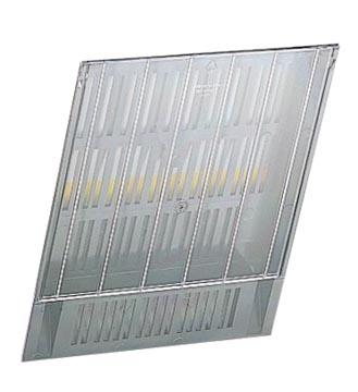 Accessoires pour Flexiboxx façade amovible frontale pour le présentoir Flexiboxx, s'utilise lors d'ext...