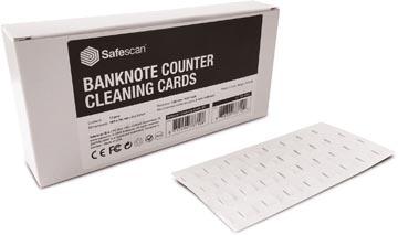 Safescan cartes de nettoyage pour compteuses