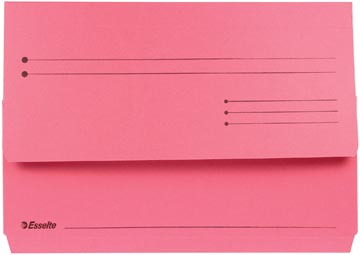 Esselte Pochette documents Pocket File rouge