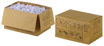 Rexel sacs recyclable pour destructeur 26 l, pour Auto+100X, paquet de 20 sacs