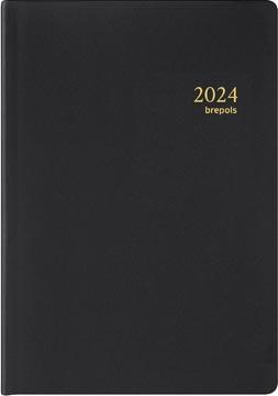 Brepols agenda Armada Seta 4 langues, noir, 2022