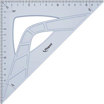 Maped équerre Geometric 26 cm, 45°