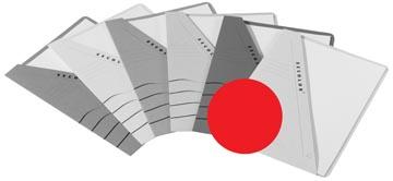 Jalema Pochette documents Secolor rouge