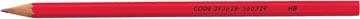 STAR crayon sans gomme, boîte de 12 pièces