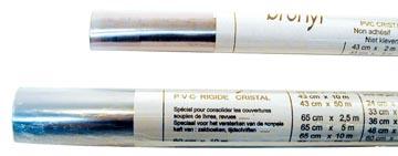 Plastique non-autocollant en rouleaux longueur: 2 m