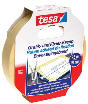 Tesa ruban adhésif de fixation, ft 19 mm x 25 m