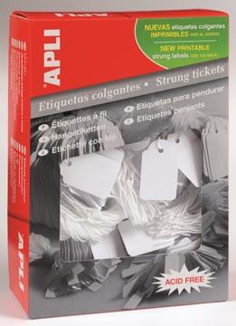 Apli étiquettes à fil ft 22 x 35 mm (l x h) (390), boîte de 500 pièces