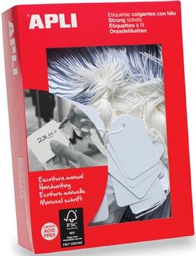Apli étiquettes à fil ft 36 x 53 mm (l x h) (392), boîte de 500 pièces