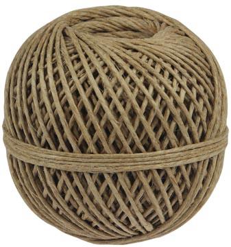 Corde de lin triple fil, bobine de 140 g, +/- 65 m