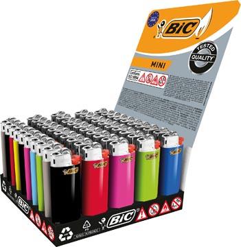 BIC J25 Mini briquet standard tray x50