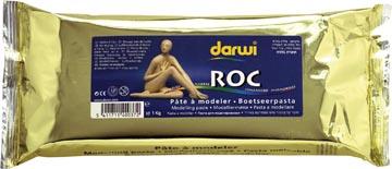 Darwi pâte à modeler Roc, paquet de 1 kg (haute qualité)