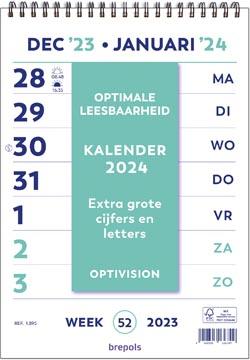 Brepols calendrier Optivision néerlandais, 2022