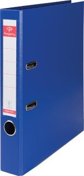 Pergamy classeur, pour ft A4, entièrement en PP, dos de 5 cm, bleu foncé