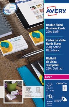 AVERY cartes de visite Quick&Clean 220 g/m²