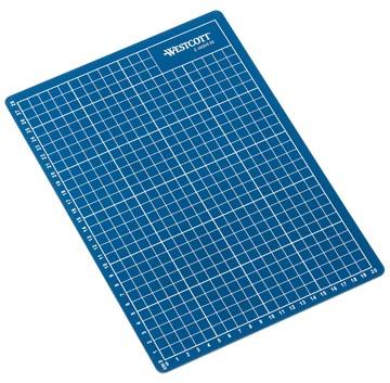Westcott tapis de coupe bleu ft A4, sous blister