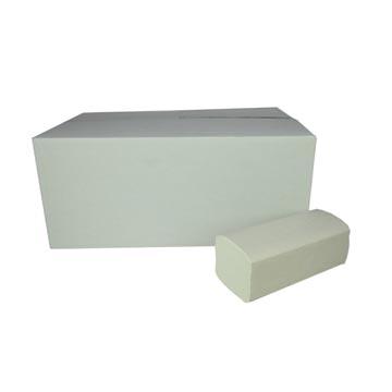 Essuie-mains en papier, plié en Z, 2 plis, paquet de 160 feuilles par boîte, paquet de 20 boîtes