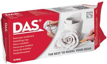 Das Argile à modeler, paquet de 500 g, blanc