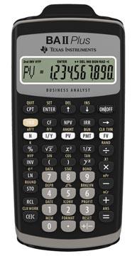 Calculatrices financières