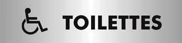 Stewart Superior signe auto-adhésif toilettes pour handicapés