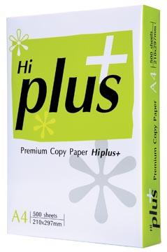 Hi-Plus Premium papier reprographique, ft A4, 75 g, paquet de 500 feuilles