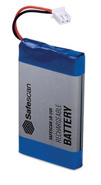 Safescan pile rechargeable LB-205, pour détecteur de faux billets 6185