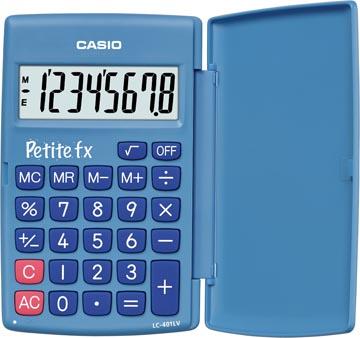 Casio calculatrice de poche Petite FX bleu