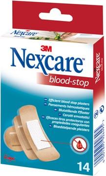 3M pansement hémostatique Nexcare Blood-Stop, paquet de 14 pièces