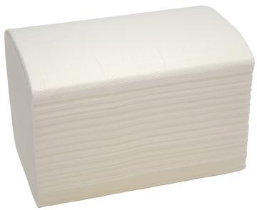 Bulkysoft serviettes, 2 plis, blanc, paquet de 200 serviettes
