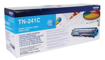 Brother toner, 1.400 pages, OEM TN-241C, cyan
